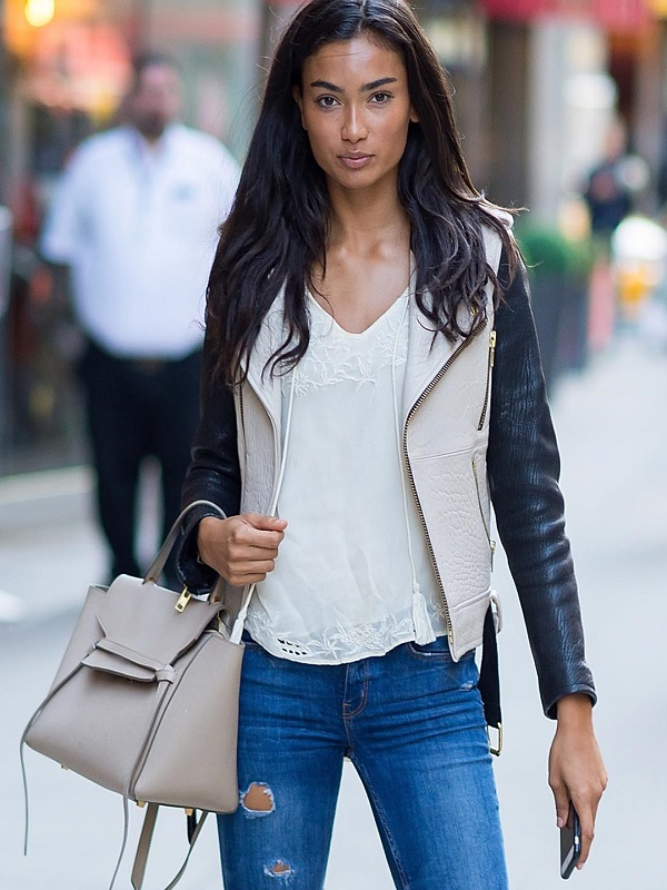 Kelly Gale,Leather Jacket