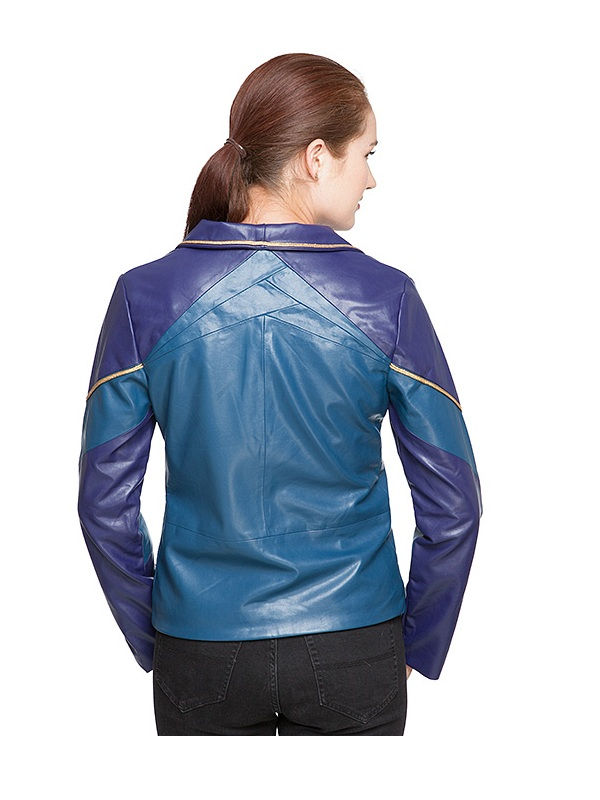 Marvel Thor Ragnarok Loki Women Leather Blazer Coat
