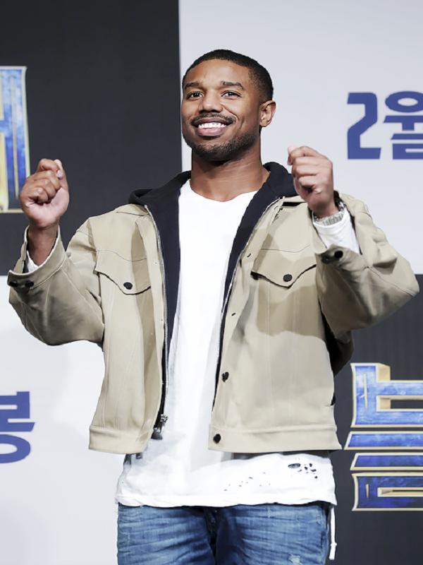 Michael B. Jordan Black Panther Premiere Jacket
