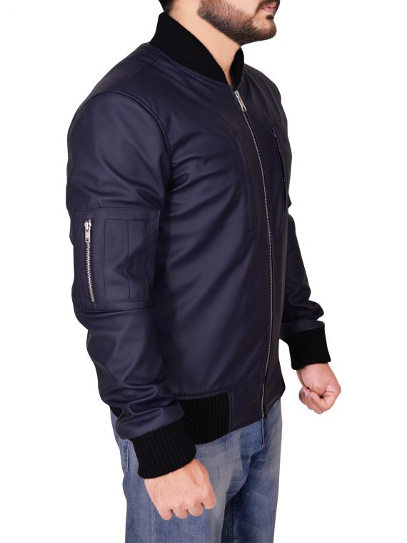 Watch Dogs 2 Game Marcus Holloway Leather Jacket,
