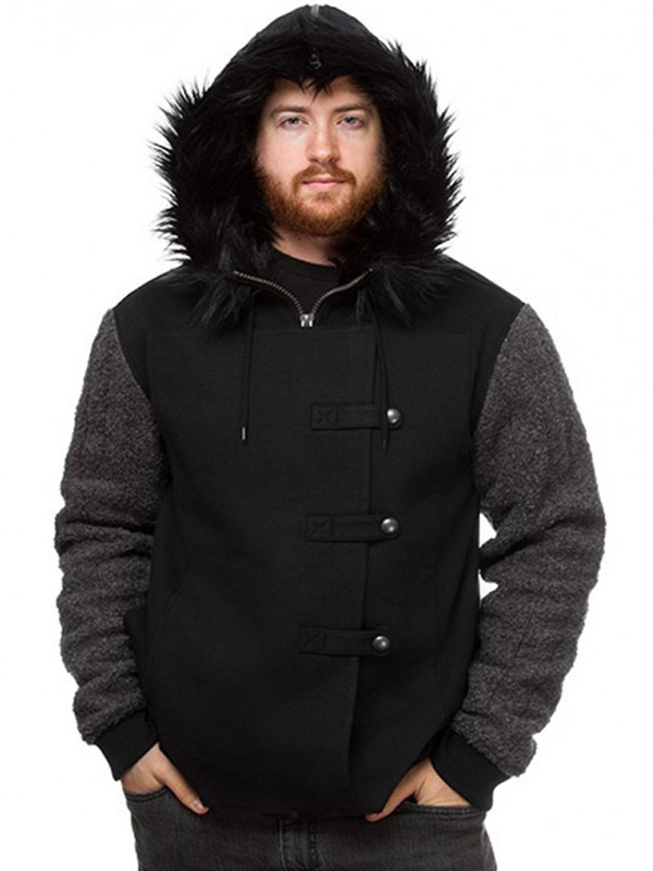 Jon Snow Game Of Thrones Fur Hoodie