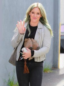 Hilary Duff Amazing Jacket