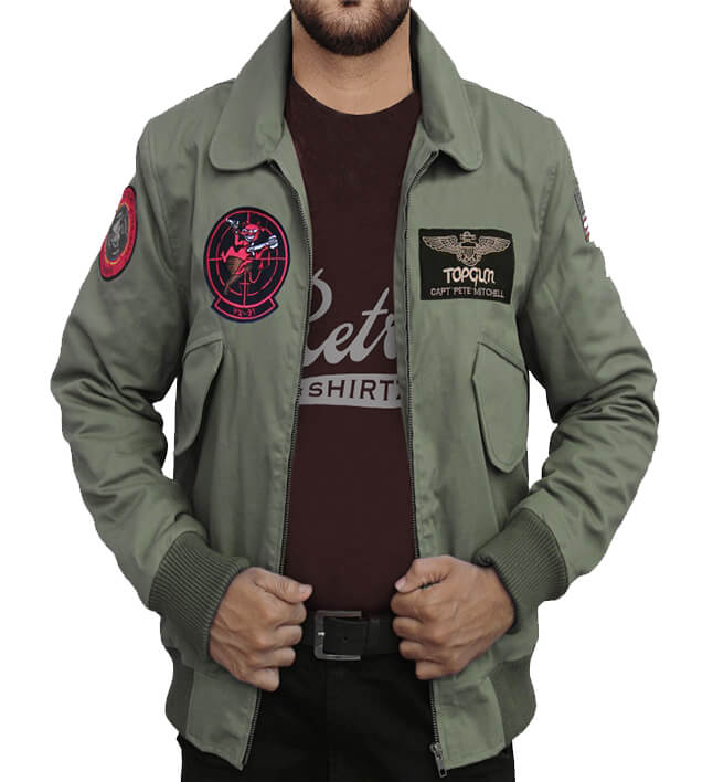 TOP GUN 2 MAVERICK TOM CRUISE COTTON JACKET