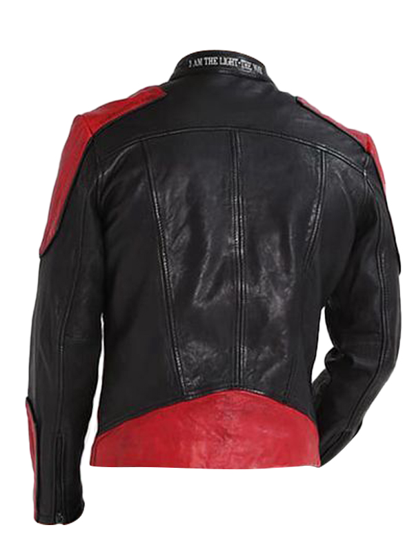 Biker Black Leather Jacket